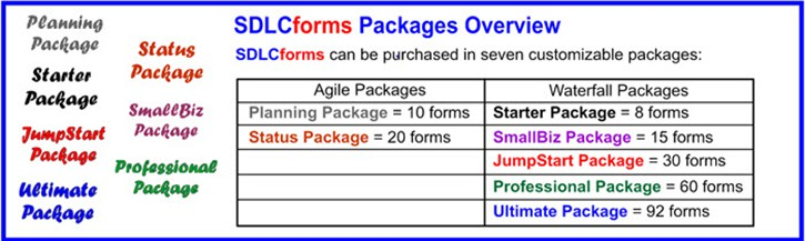 SDLCforms Forms Packages