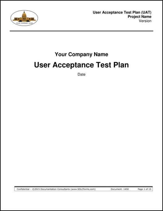 SDLCforms User Acceptance Test Plan (UAT)
